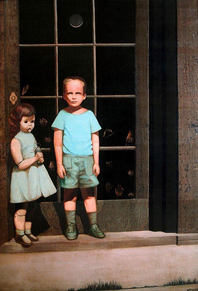 Bill Stoneham, The Hands Resist Him, 1972