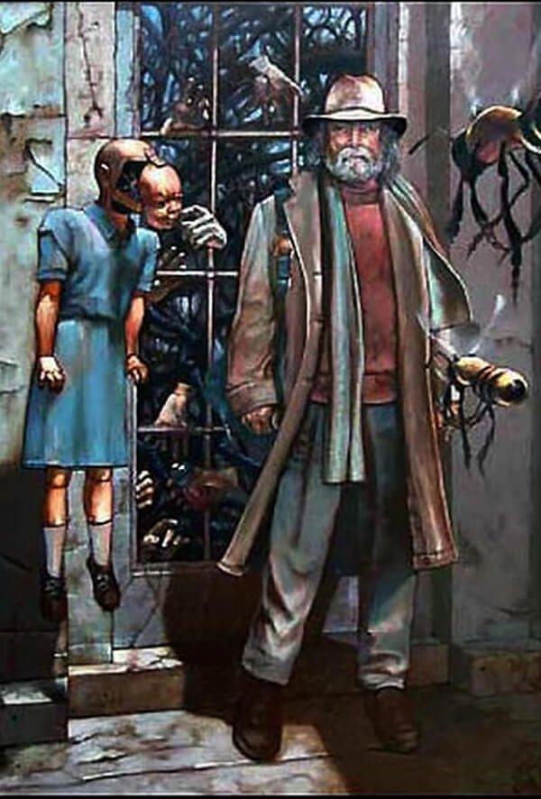 Bill Stoneham, Resistance at the Threshold, 2004