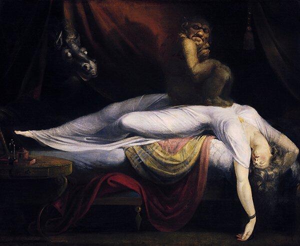 Генри Фюсли «Ночной кошмар» (1781), Детройтский институт искусств