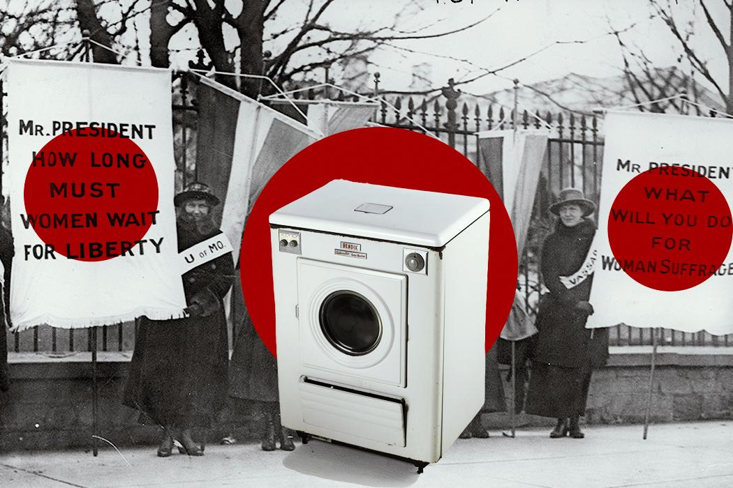 Секс на работающей стиральной машине — img 12